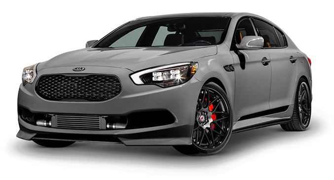 2015 High-Performance Kia K900 Front