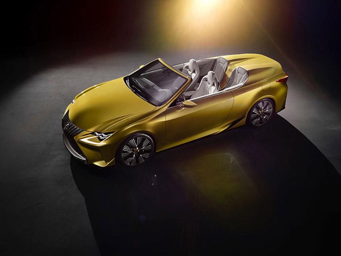 2014 Lexus LF-C2 Roadster Concept Front Angle