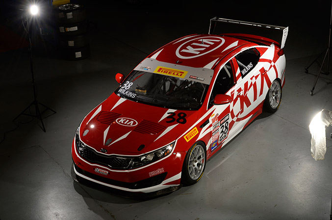 2015 Pirelli World Challenge GTS Kia Optima Front