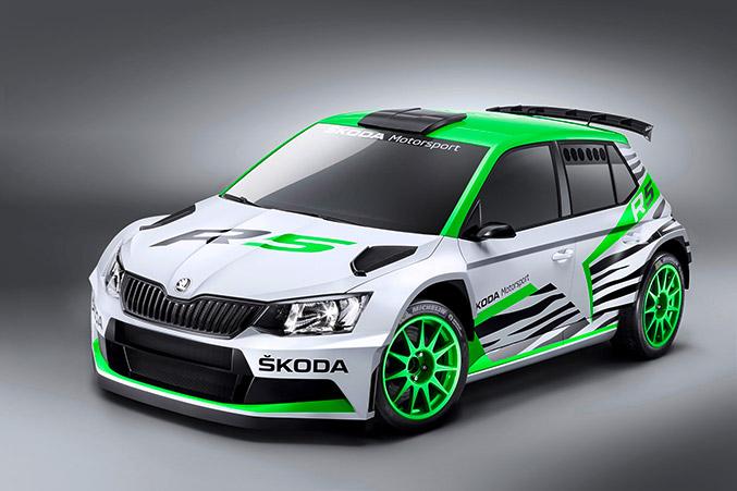 2015 Skoda Fabia R5 Concept Front Angle
