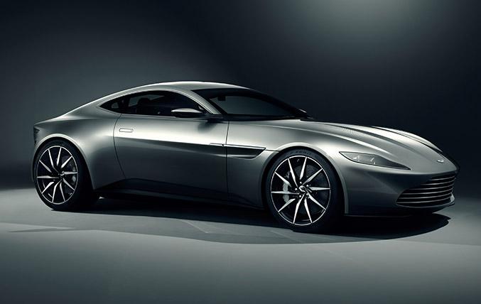 2015 Aston Martin DB10 Front Angle