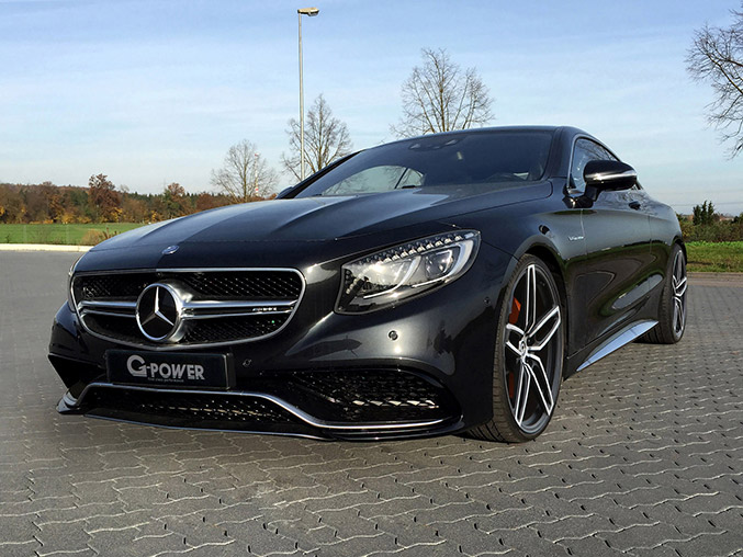 2014 G-Power Mercedes-Benz S63 AMG Coupe Front Angle