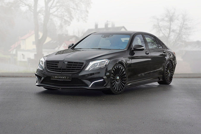 2014 Mansory Mercedes-Benz S63 AMG Front Angle