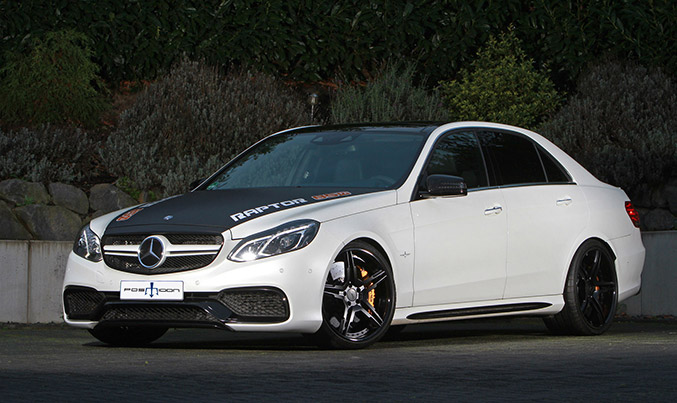 2014 Posaidon Mercedes-Benz E63 AMG RS 850 Front Angle