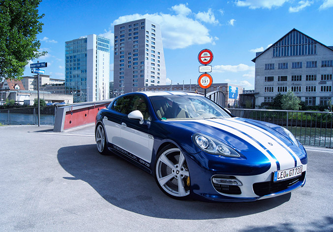 2015 Gemballa Porsche Panamera GTP720 Front Angle