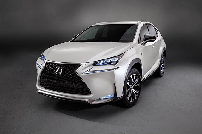 2015 Lexus NX 200t F Sport Front Angle