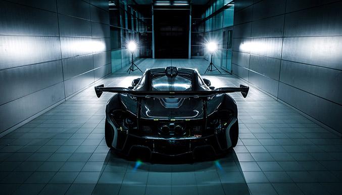 2016 McLaren P1 GTR Rear Angle