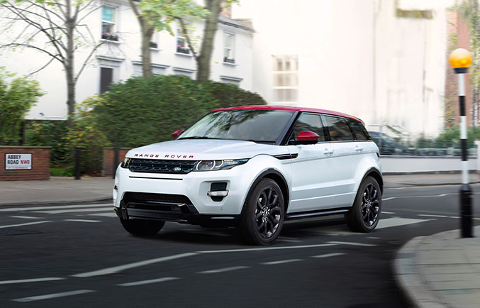 2015 Range Rover Evoque NW8 Special Edition Front Angle