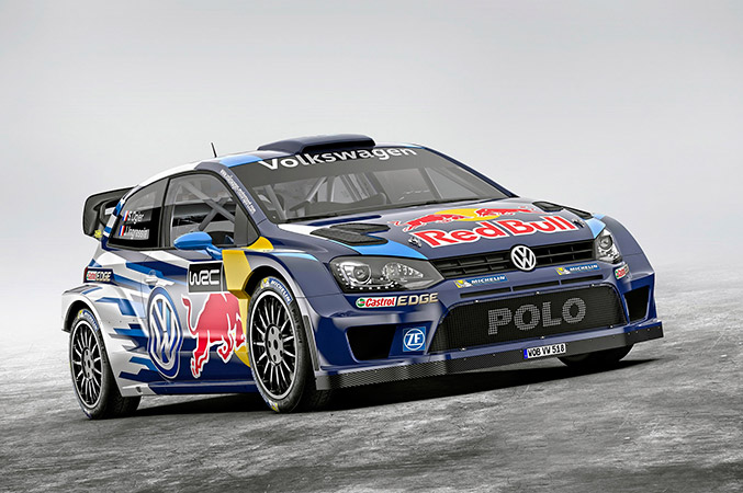 2015 Volkswagen Polo R WRC Front Angle