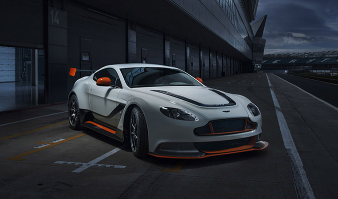 2015 Aston Martin Vantage GT3 Special Edition Front Angle