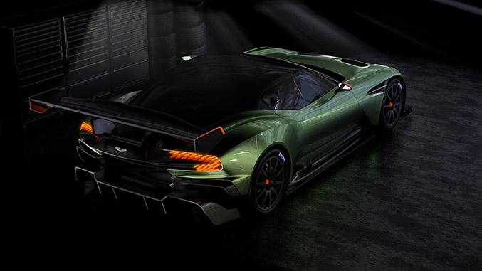 2016 Aston Martin Vulcan Rear Angle