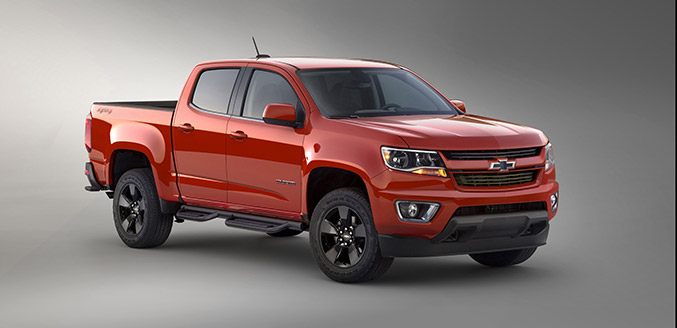 2015 Chevrolet Colorado GearOn Edition Front Angle