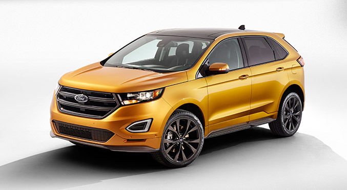2015 Ford Edge Sport Front Angle