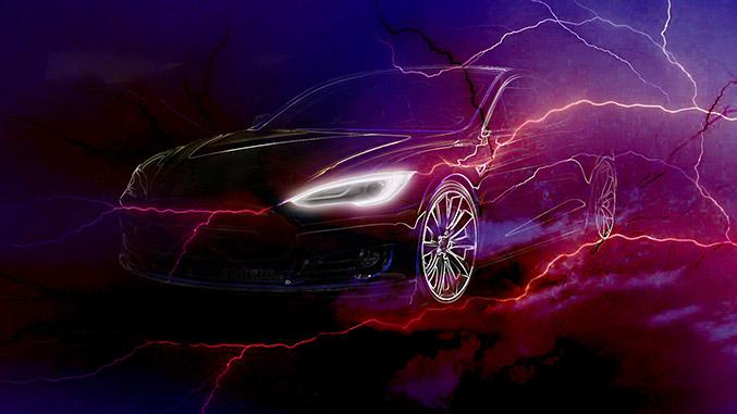 LARTE Tesla S Front Angle
