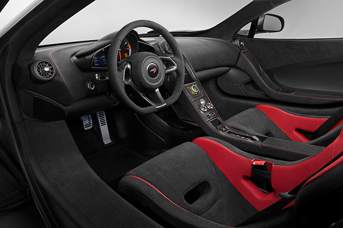 2016 McLaren 675LT Interior