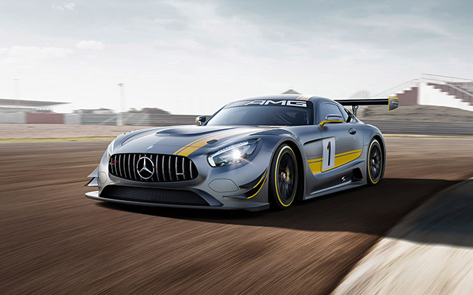 2015 Mercedes-Benz AMG GT3 Front Angle