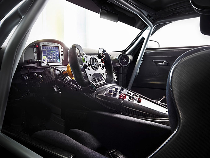 2015 Mercedes-Benz AMG GT3 Interior