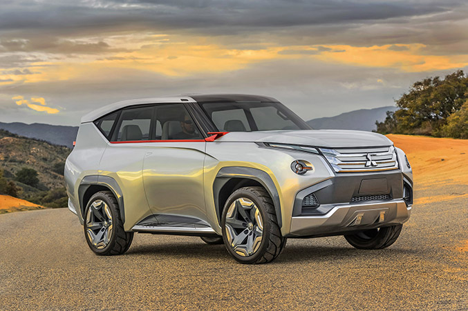 2015 Mitsubishi GC-PHEV Concept Front Angle