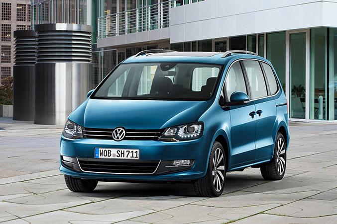 Volkswagen Sharan 2016 Exterior - Front Angle