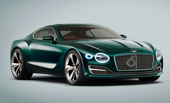 Bentley EXP 10 Speed 6 Concept Front Angle