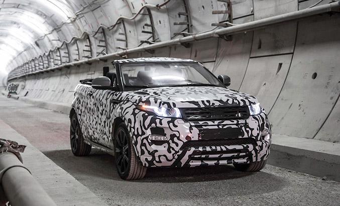 2016 Land Rover Range Rover Evoque Convertible Front Angle