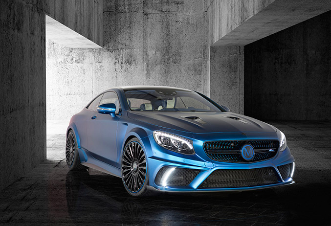 2015 Mansory Mercedes-Benz S63 AMG Diamond Edition Front Angle