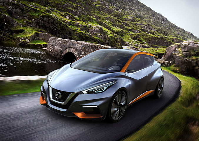 2015 Nissan Sway Concept Front Angle