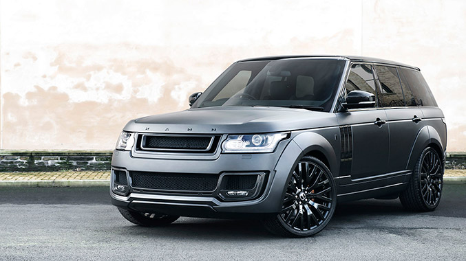 2015 Project Kahn Range Rover RS-650 Edition Front Angle