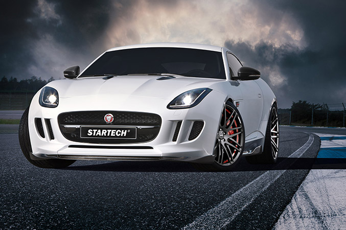 2015 STARTECH Jaguar F-Type Front Angle