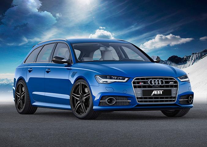 2015 ABT Audi S6 Avant Front Angle