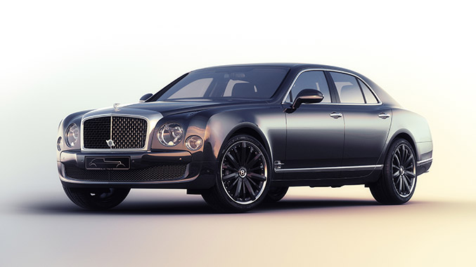 Bentley Mulsanne Speed Blue Train by Mulliner Debuts at Techno-Classica