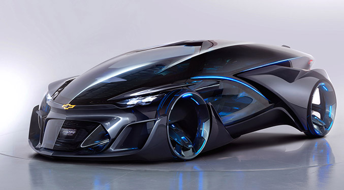 2015 Chevrolet FNR Concept Front Angle