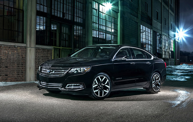 2016 Chevrolet Impala Midnight Edition Front Angle