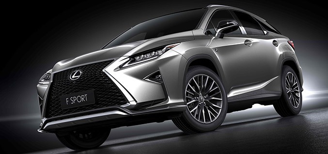 2015 Lexus RX 200t F SPORT Front Angle