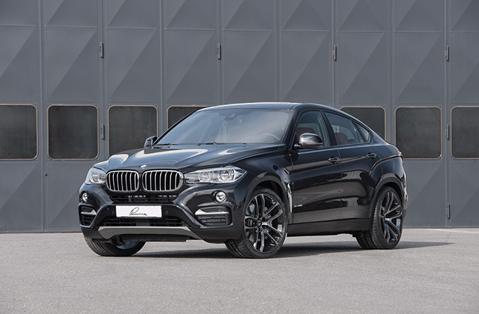 2015 Lumma BMW X6 Front Angle