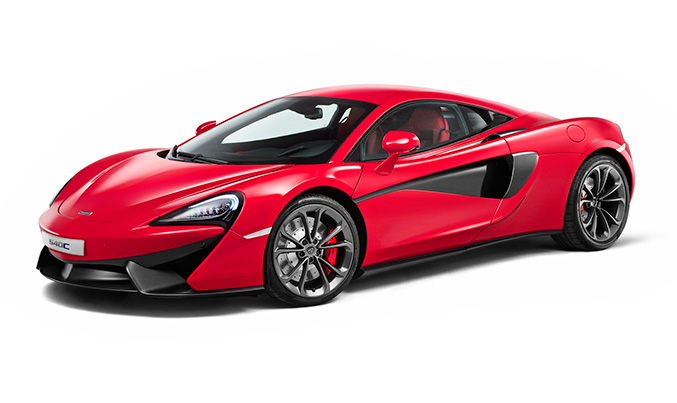 2016 McLaren 540C Coupe Front Angle