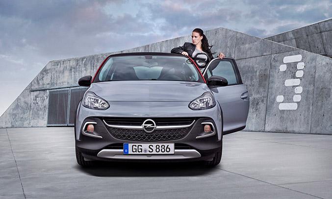 2016 Opel Adam Rocks S Front