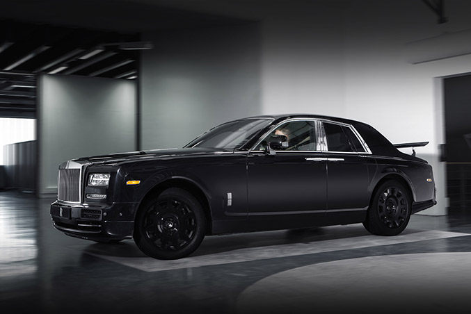 2015 Rolls-Royce Project Cullinan Phantom Series II Front Angle