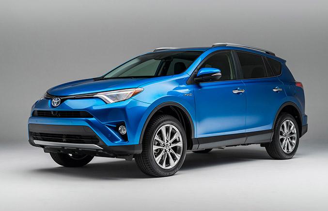 2016 Toyota RAV4 Hybrid Front Angle