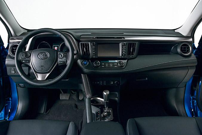 2016 Toyota RAV4 Hybrid Interior