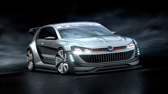 Volkswagen GTI Supersport Vision Gran Turismo Front Angle