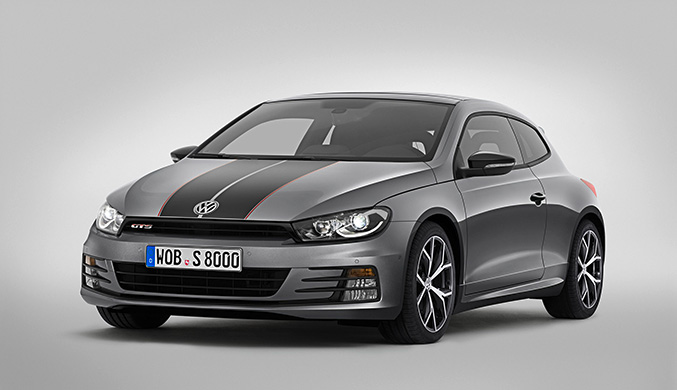 Volkswagen Scirocco GTS 2016 Front Angle