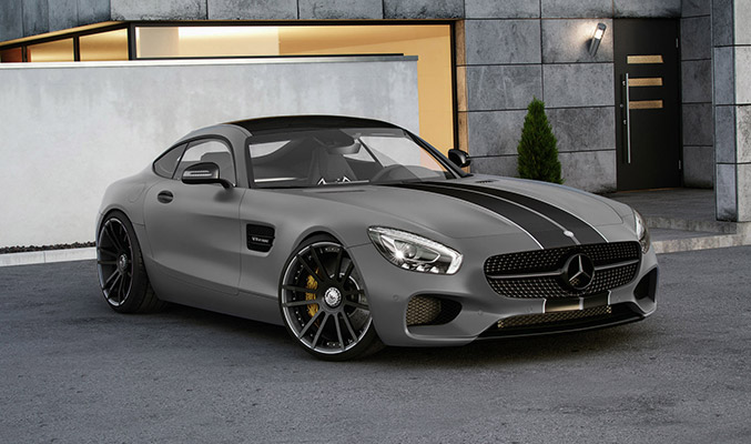 2015 Wheelsandmore Mercedes-Benz AMG GT S Coupe Front Angle