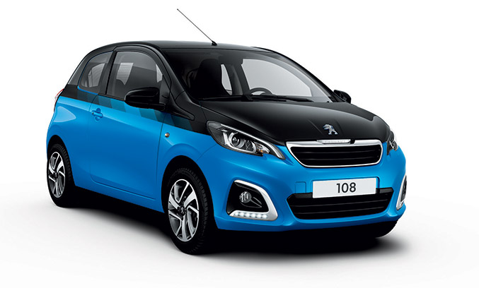 2015 Peugeot 108 Extends Front Angle
