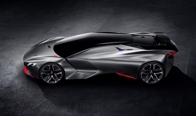 2015 Peugeot Vision Gran Turismo Concept Left Side