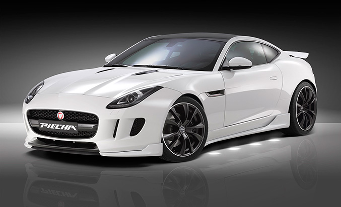 2015 Piecha Design Jaguar F-Type V6 Coupe Front Angle