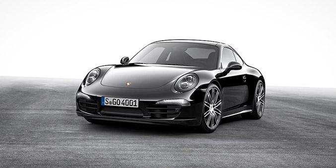 2016 Porsche Carrera 911 Black Edition Front Angle