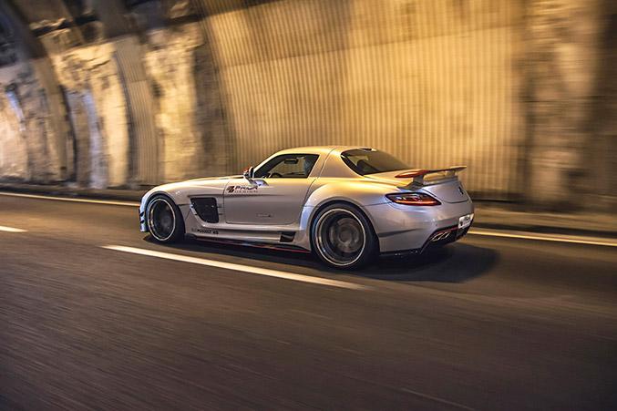 2015 Prior Design Mercedes-Benz SLS AMG Rear Angle