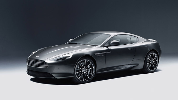 2016 Aston Martin DB9 GT Front Angle