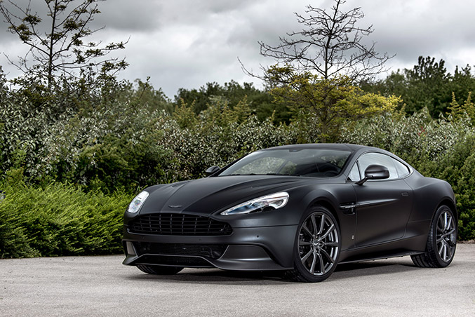 2016 Aston Martin Vanquish One of Seven Front Angle